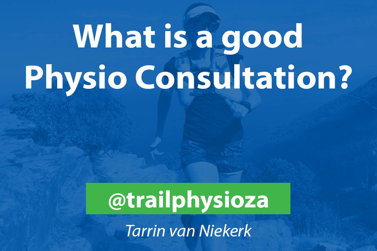 What is a good Physio consultation?